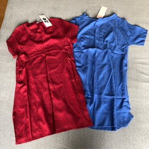 Dresses & Skirts - Red + blue dress